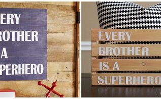 pottery barn knock off crate for boys room, bedroom ideas, crafts, home decor, pallet, repurposing upcycling