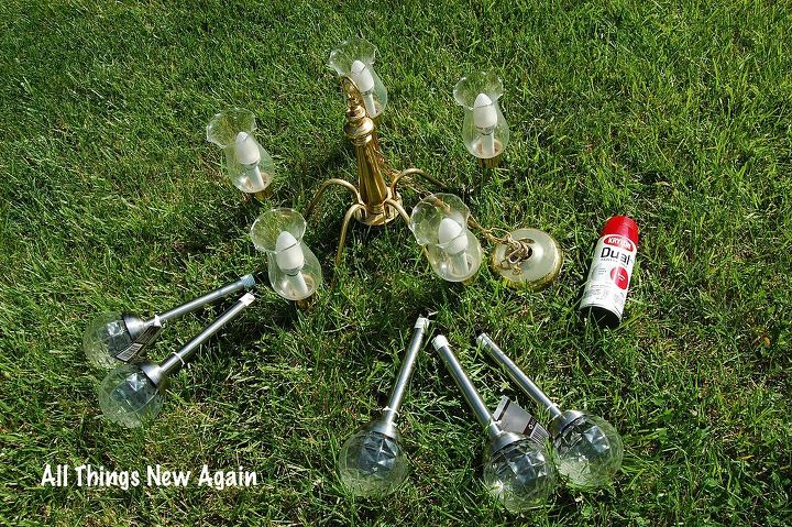 Solar chandelier outdoor thejots diy solar chandelier backyardready hometalk lighting ideas aloadofball Gallery