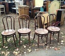 bought 4 thonet bentwood chairs and would love some more info, painted furniture
