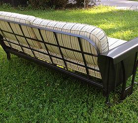 Superior Vintage Porch Glider Restoration, Outdoor Furniture, Painted Furniture