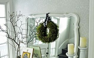 diy moss wreath a cure for the winter blues, crafts, home decor, wreaths