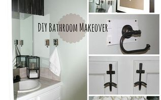 diy bathroom makeover, bathroom ideas, home decor
