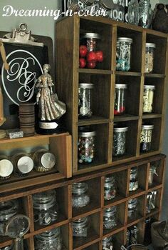 craft room redo on a budget with lots of creativity a dream begins, craft rooms, home decor, home office, storage ideas, storage solutions in different zones