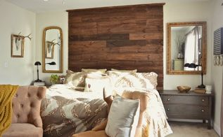 diy palette headboard, bedroom ideas, diy, how to, pallet