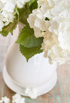 how to care for freshly cut hydrangeas, flowers, gardening, hydrangea, I found these beautiful hydrangeas at Costco for 8 00 At the checkout the lady told me to make sure I put them in ice cold water This intrigued me because I always thought that warm water was best for flowers
