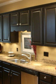 how much will it cost to paint kitchen cabinets, cabinets, painting, With new cabinets so expensive and the quality of real wood refacing improving this has become a very interesting option