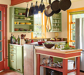 6 colorful kitchens we love home decor kitchen design painting - Colorful Kitchens