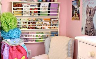 what can you do with 12 sq ft of space turns out quite a bit, bedroom ideas, cleaning tips, home decor, painted furniture, storage ideas, Before the makeover this tiny space behind the bunk bed was a reading corner