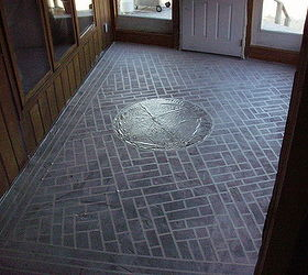 Painted Concrete Floors That Last and Last and Last Hometalk