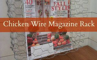 diy chicken wire baskets, crafts