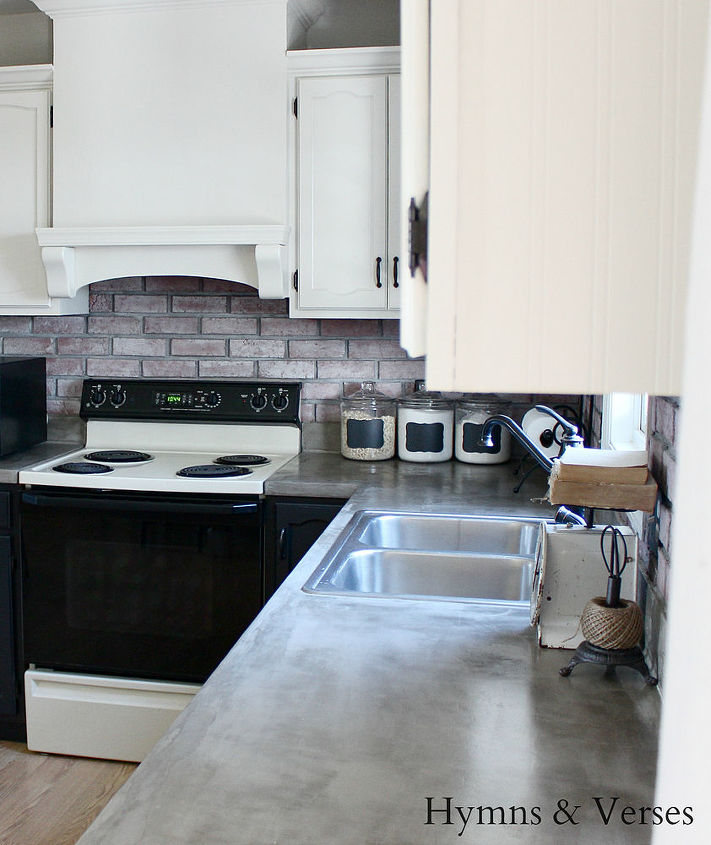 Diy Concrete Countertops Over Existing Formica Hometalk