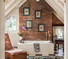 restored inn at woodhaven, bathroom ideas