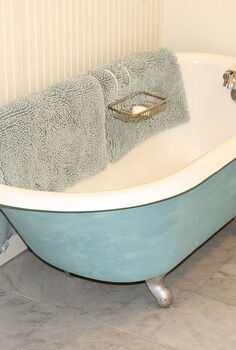 bathroom blues, bathroom ideas, home decor, Old tub