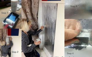 applying aluminum foil to walls, painting, wall decor