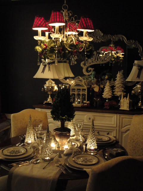 Holiday Dining Room Ralph Lauren Amp Goodwill Christmas Decorations Seasonal Decor Merry