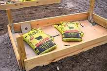 how to build raised beds, gardening, raised garden beds, Constructing a raised bed