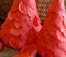 valentine s day decor easy craft and for literally one dollar, crafts, seasonal holiday decor, valentines day ideas, Construction paper Dollar Tree Rose petals that easy