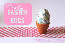 the anything but average guide to dying easter eggs, crafts, seasonal holiday decor, Paper Mache Easter Egg