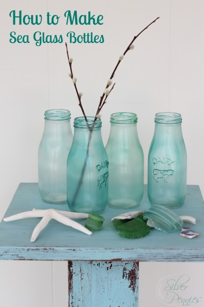 How To Make Sea Glass Bottles Hometalk