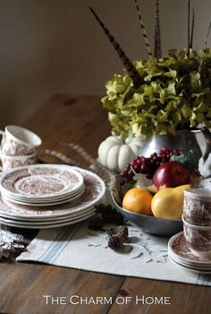 thanksgiving table, seasonal holiday d cor, thanksgiving decorations, Thanksgiving table