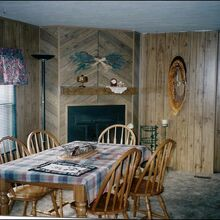 makeover of a mobile home photo heavy post, diy, doors, home decor, Before all brown paneling