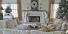holiday house tour, seasonal holiday decor, wreaths