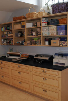 craft room, craft rooms, Craft station cabinetry by Europa Cabinetry supplied by The Kitchen Studio at Pine Street West Chester PA