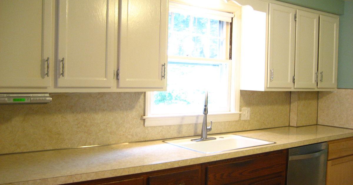 Painting White Laminate Cabinets
