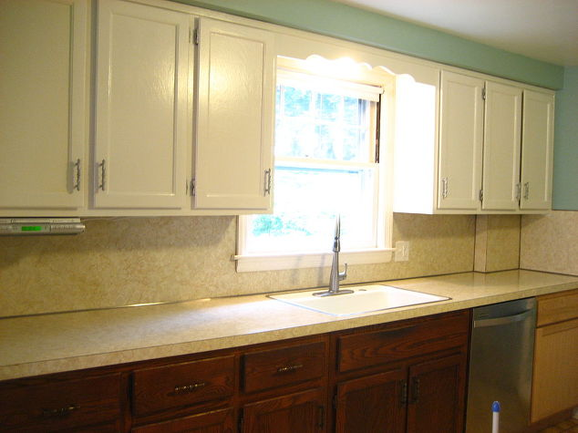 Removing Old Kitchen Cabinets