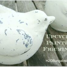 upcycle painted figurines, crafts, repurposing upcycling, Update your old figurines with simple step by step instructions
