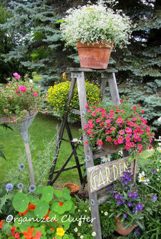 12 charming gardens personal spaces for inspiration, gardening, outdoor living, succulents, Vintage in the Garden Organized Clutter
