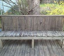 q deck bench cushion, decks
