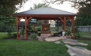 before and after photos, landscape, outdoor living, After