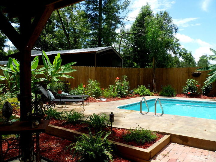 Recycled Inground Pool Paradise Hometalk