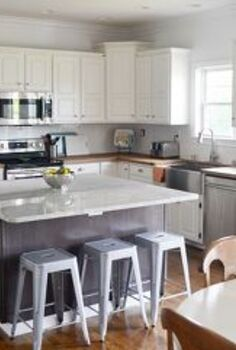 kitchen makeover reveal, countertops, diy, home decor, kitchen design, After