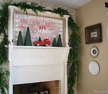 our christmas mantel 2012, seasonal holiday d cor