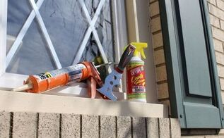 remove silicone caulk with an environmentally friendly product, curb appeal, home maintenance repairs, how to, Use Lift Off a 5 1 painter s tool and some tips to remove outdoor painter s caulk