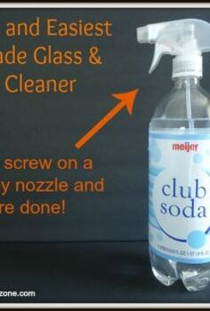 tired of streaky windows try this homemade glass cleaner instead, cleaning tips, homesteading, windows