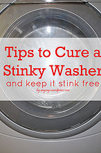 tips to cure the washer stink, appliances, cleaning tips