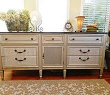 elegant vintage dresser, home decor, painted furniture, A new look