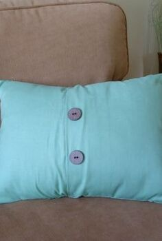 give new life to old pillows with this easy diy envelope pillow cover, crafts