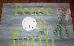 rustic christmas signs, christmas decorations, crafts, repurposing upcycling, seasonal holiday decor, This is one of my favorite sentiments