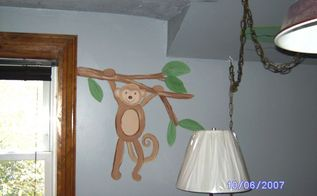mural s i painted for the grand kids, bedroom ideas, painting