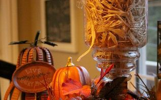 fall centerpiece, halloween decorations, seasonal holiday d cor