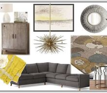 e design mood boards amp floor plans, Mood Board Modern Living Room Space