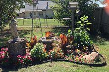 flowerbed, gardening