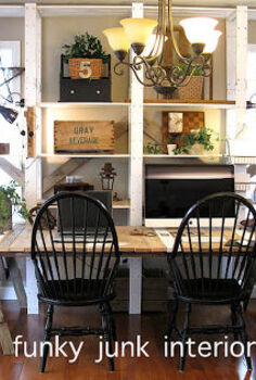 my favorite room in the house is the blog office, home decor, pallet, repurposing upcycling, My blog office Which was once the dining room I knew the dining room needed to go when I ended up dusting it weekly rather than using it Now I use the space too much