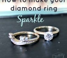how to clean your diamond ring at home make it sparkle, cleaning tips