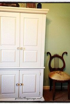 drab to fab armoire makeover, home decor, painted furniture