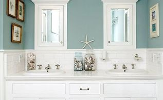 bathroom makeovers fast renovation tips before after photos video, bathroom ideas, home decor, home improvement, small bathroom ideas, Mirrors over your vanity and task lighting above your mirrors will create a lighter more spacious bathroom